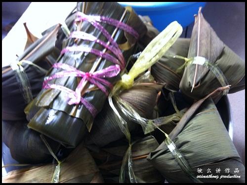 Rice Dumplings! 粽子Zhong