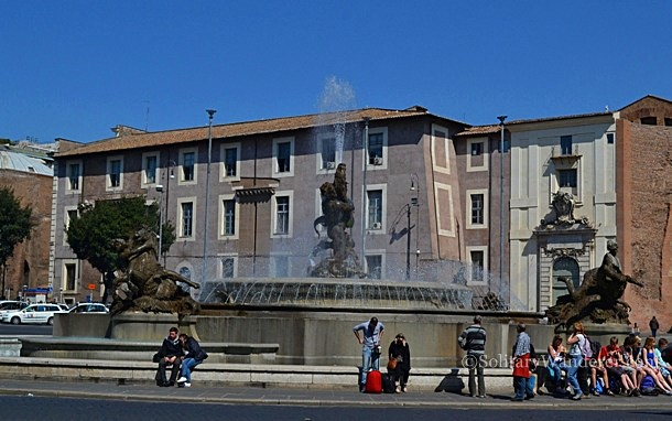 Fontana delle Naiadi, Rome