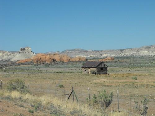 Abandoned homestead in Utah