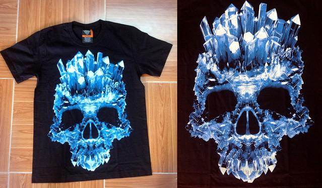 Áo thun Digital ấn tượng, phát sáng trong màn đêm !!!