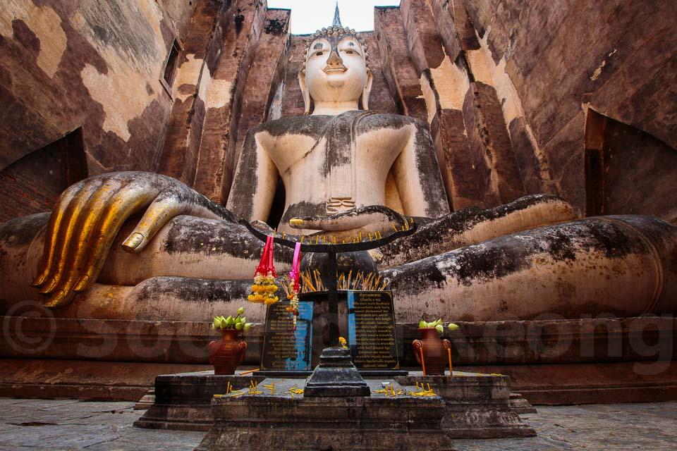 Wat Si Chum @ Sukhothai, Thailand
