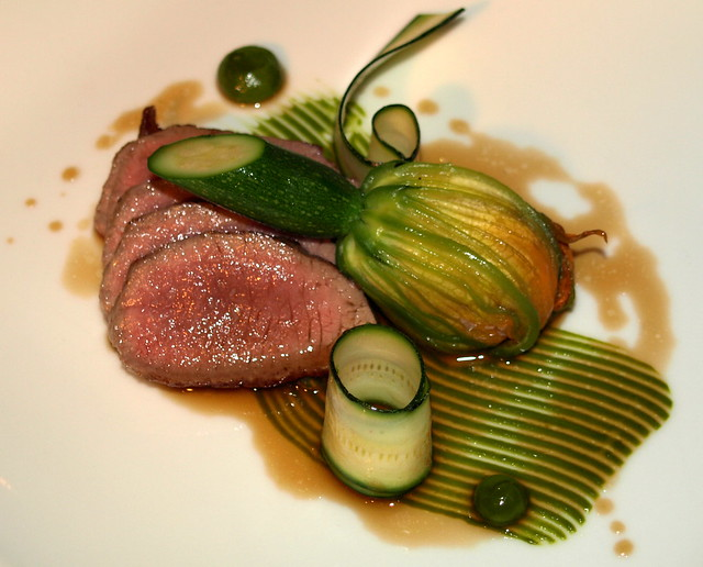 Chef Colin McGurran's dish at Nigel Haworth's Fantastic Food Show