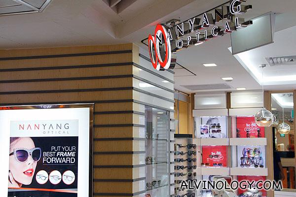Nanyang Optical at Bishan Junction 8