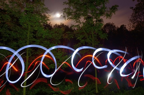 Light painting by kewl
