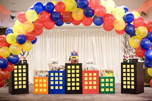 HOUSE OF PAINT First Birthday Boy Themes