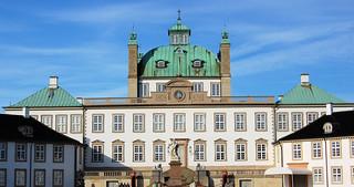 Image of Fredensborg Palace. denmark palace fredensborg