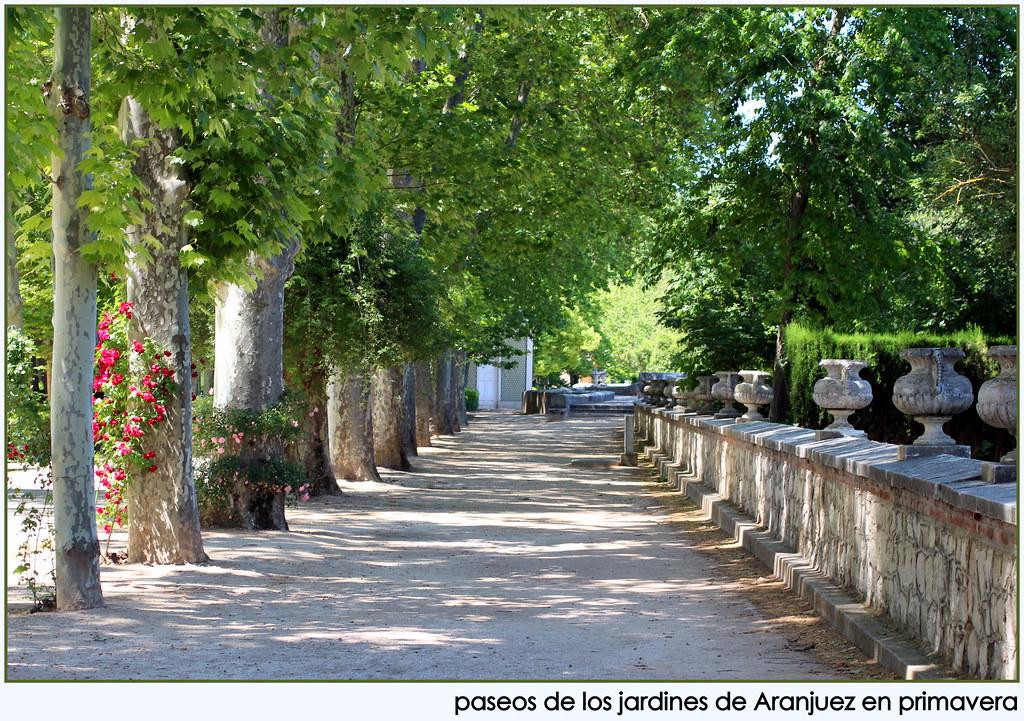 el tiempo por si mismo jardines de aranjuez en mayo On jardines de aranjuez