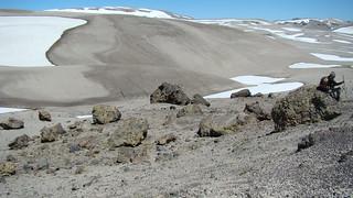 Derrumbe Caulle Chico, volcán Puyehue