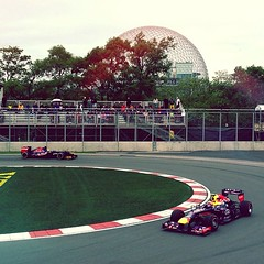 So today was pretty amazing... #f1 #CanadaGP #redbull