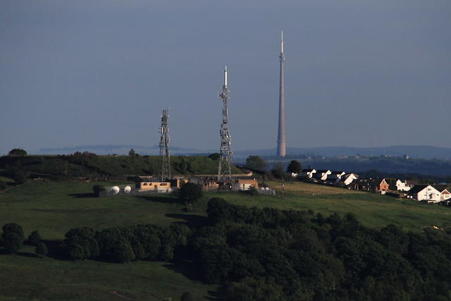 Wrose and Emley Moor transmitters