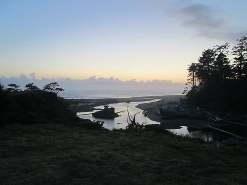 Kalaloch at dusk