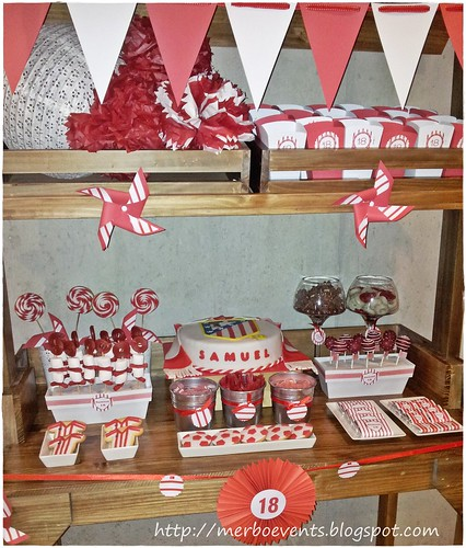 Sweet table red&white  7Merbo Events