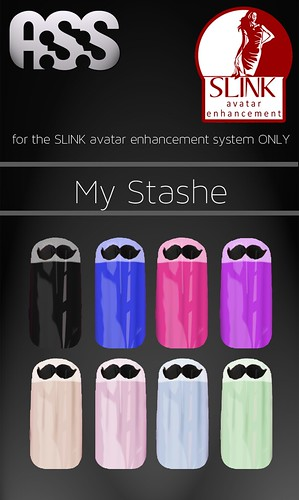 A:S:S - SLINK avatar enhancement nails - My Stash - Only 10L! by Pho Vinternatt