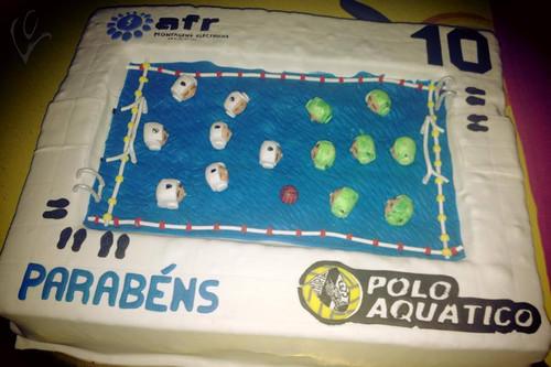 Pólo Aquático - 10 anos