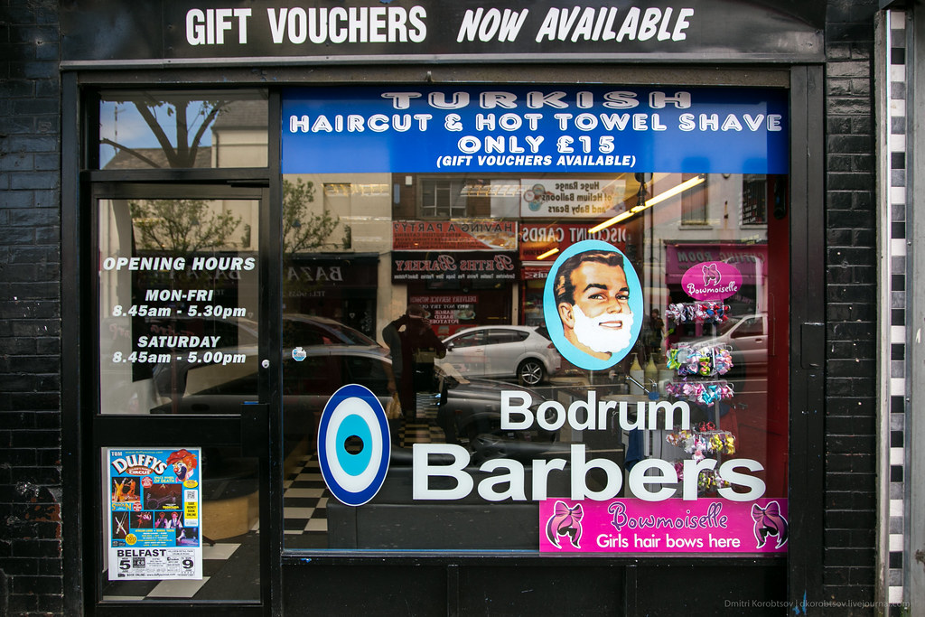 Bodrum Barbers, Shankill road
