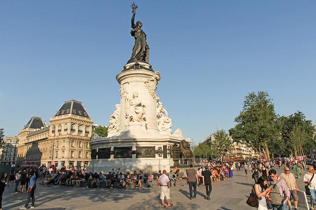 Place de la r publique paris france flickr photo for Audiovisuel exterieur de la france