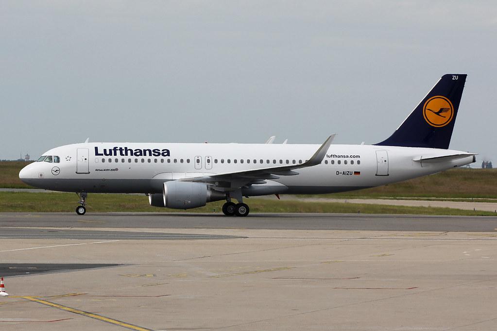 D-AIZU - A320 - Eurowings
