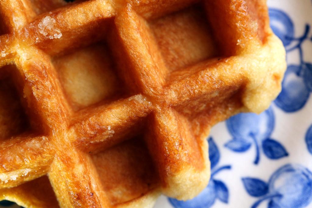- Waffled -