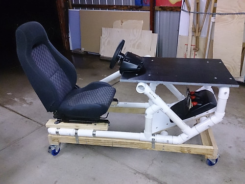 diy plans for a race simulator cockpit page 2 a r s e. Black Bedroom Furniture Sets. Home Design Ideas