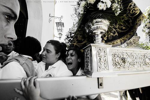 Entrada de la Virgen de Alharilla a su Ermita by Sansa - Factor Humano
