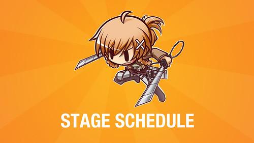 CJC Stage Schedule