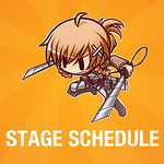 CJC Stage Schedule