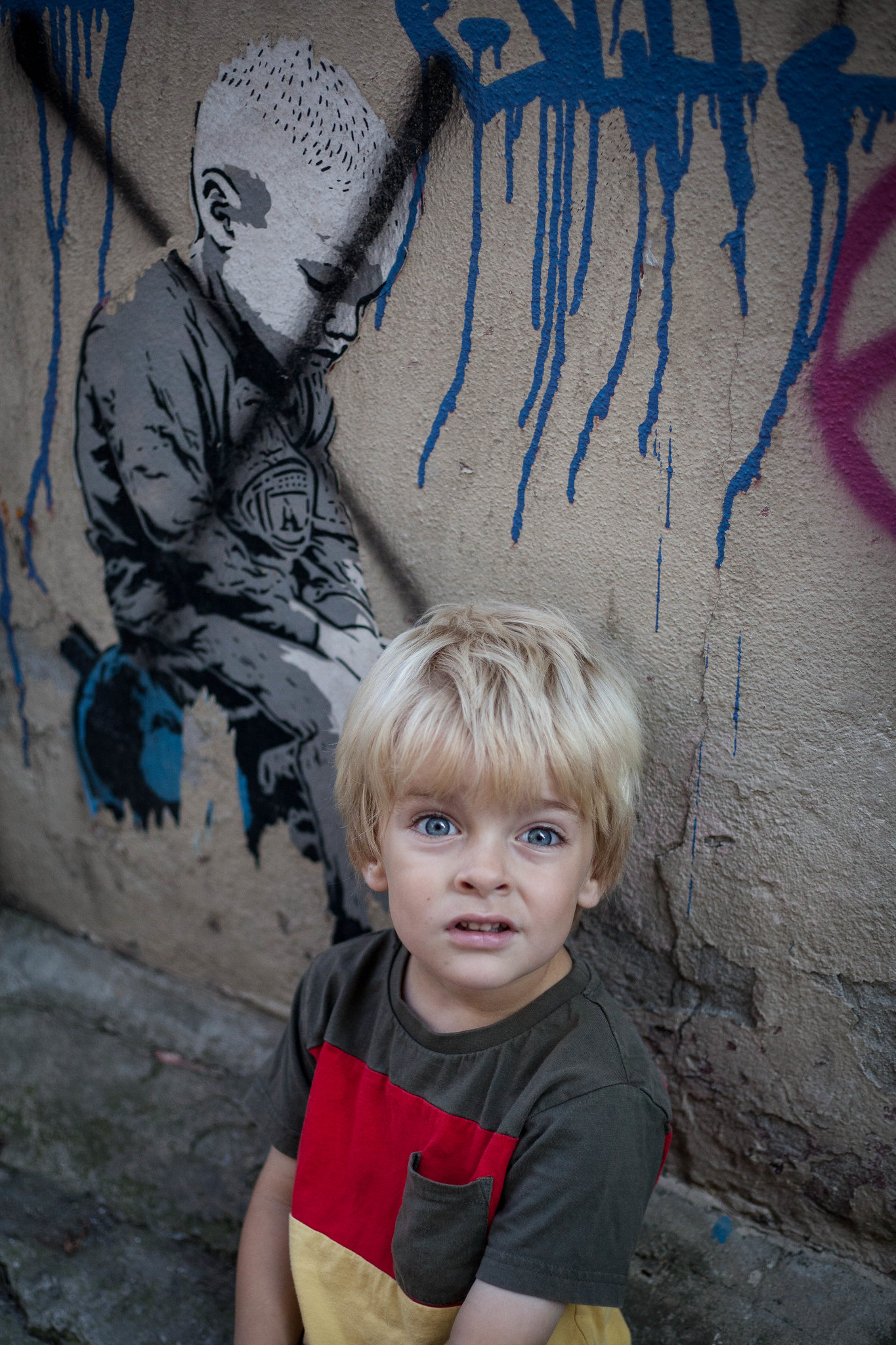 Graffiti boy.