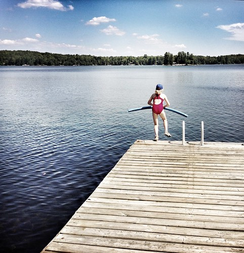 lake swim fun jump getty haliburton kawarthas iphone5 gettyimagesartist