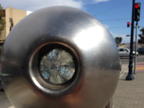 Kalaidoscope on the Street in San Francisco