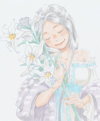 130824 – 集合33位漫畫家、小說家投稿之『幸運女神』第一本公式畫集《おかわりっ!! めがみさまっ!!》新發售! 3 羽海野チカ