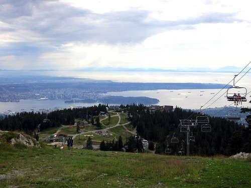 Grouse Mountain in the summer