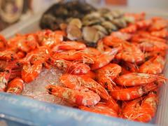 seafood boil(0.0), crayfish(0.0), fish(0.0), invertebrate(0.0), dish(0.0), shrimp(1.0), dendrobranchiata(1.0), caridean shrimp(1.0), seafood(1.0), produce(1.0), food(1.0), cuisine(1.0),