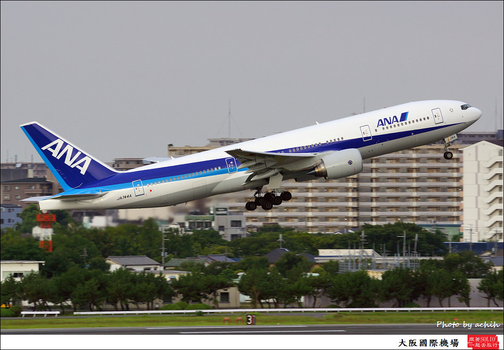 All Nippon Airways - ANA JA744A-002