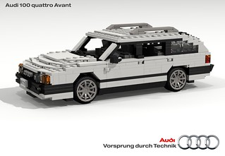 Audi C3 100 quattro Avant
