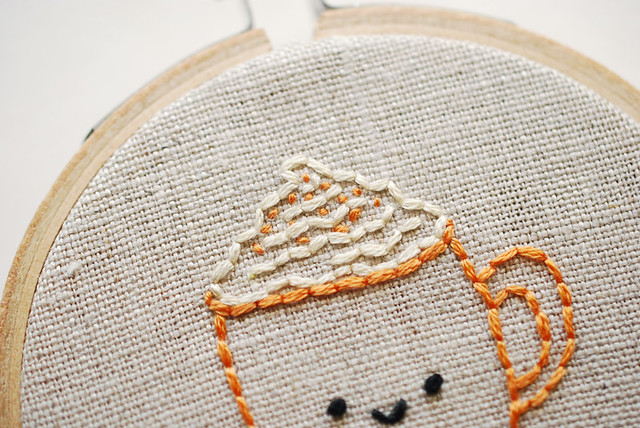 Pumpkin Spice Latte Tiny Pattern