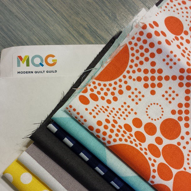 #mqgrileyblakechallenge  fabrics in the house. Can't wait to get started thanks @themqg