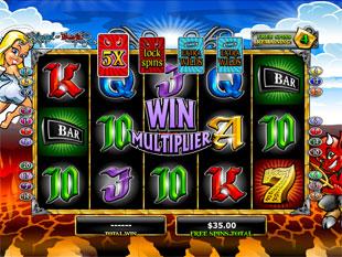 Angel or Devil Free Spins Win Multiplier