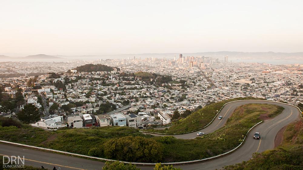 Twin Peaks, SF.