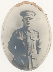 Portrait photograph - P. Mitchell. Sydney Harbour Trust staff killed in action in WWI