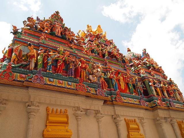 P4178927 スリ・ヴィラマカリアマン寺院 シンガポール ひめごと