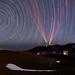 Polaris above Mauna Kea by geekyrocketguy