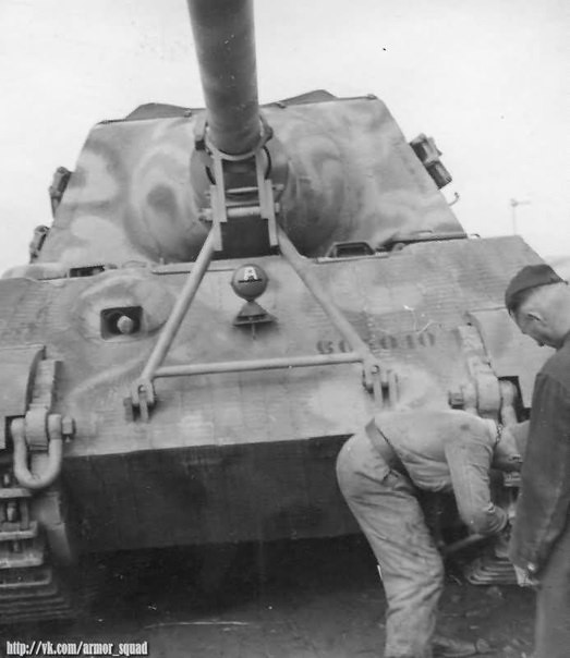 Jagdtiger from 653 battalion of tank destroyers