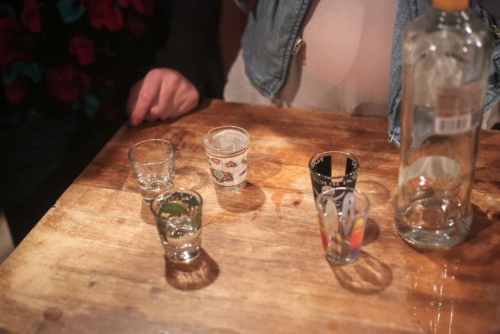 Booze 'til you lose: Mosaic takes a firsthand look at the party scene