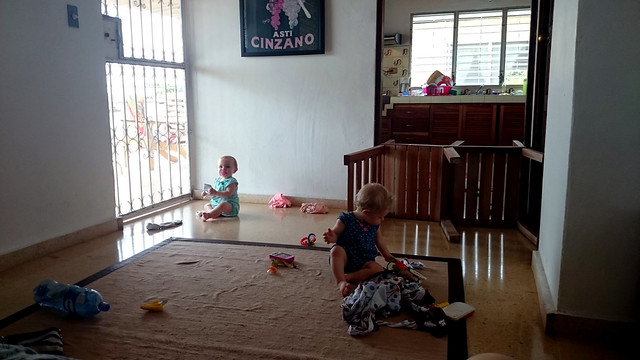 Baby Proofed Living Room