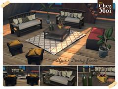 Alpine Living Room CHEZ MOI