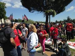 Alès, manifestation anti corrida de l'Ascension 2015