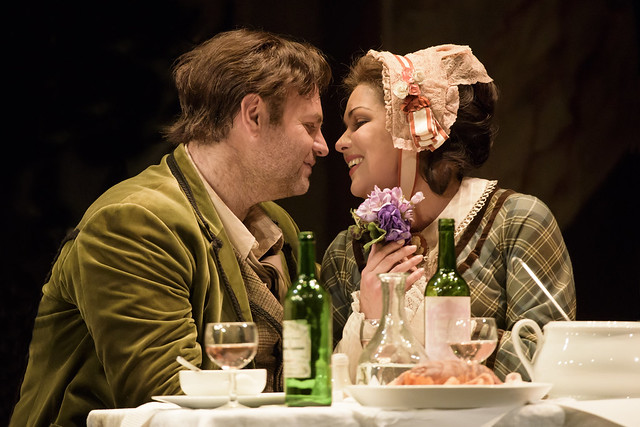 Joseph Calleja and Anna Netrebko in La bohème © 2015 ROH. Photograph by Bill Cooper