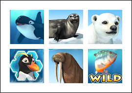 free Penguin Splash slot game symbols