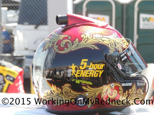 Clint Bowyer's Helmet