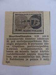 futuro stamp newspaper article